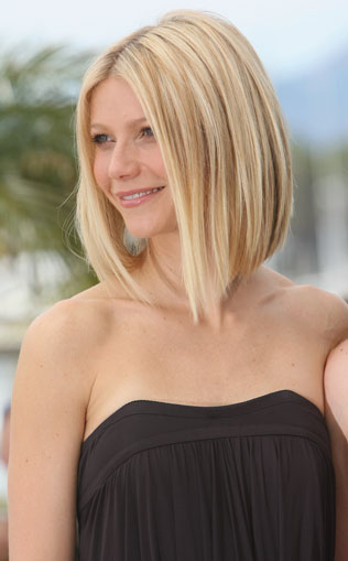 gwyneth paltrow bob hairstyles